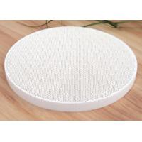 China 160 MM Infrared Honeycomb Gas Ceramic Plate Hexagon Pattern Cordierite For Cooking Tool on sale