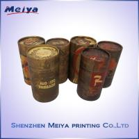 Custom Recycle Gift Paper Cardboard Tube Box , Cylinder Box ,  Round Box Manufactures