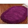 Buy cheap Absorbent Cheap Microfiber Bathroom Mat Anti-Slip Shaggy Surface Modern Style Mat from wholesalers