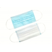 Buy cheap Blue Safety OEM Non Woven Disposable Earloop Face Mask from wholesalers