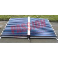 China 50 Tubes Vacuum Tube Solar Collector Stainless Steel Manifold For Project on sale