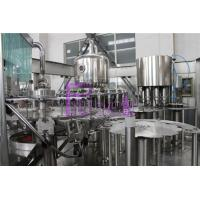 High Speed Hot Filling Machine Fruit Juice Filling And Capping Machines Volumetric Type Manufactures