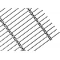 China Rod Crimped Wire Mesh , Stainless Steel Architectural Wire Mesh for Decoration on sale