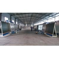 Large Capacity Vertical Glass Washing Machine With Plc Control System