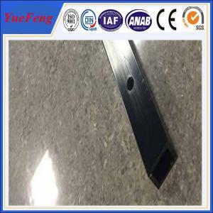 6061 t6 aluminum quality factory square tube extrusion profile / cnc drilling square tube Manufactures