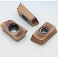 High Flexural Strength Indexable Carbide Inserts For Steel / Stainless Steel Manufactures