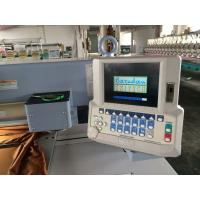 Network Control Computer Embroidery Machine , Computerized Embroidery Machine Manufactures