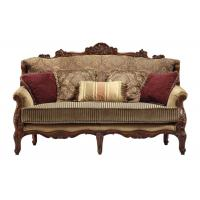 Jane European Style Wooden Sofas Furniture Sofa Set  With Carved Frame Manufactures
