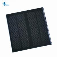 China 24 Battery thin film solar cell for powerbank solar power ZW-145145-12V 4.7W solar charger on sale