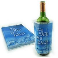 China Eco-friendly Gel Ice Pack Plastic Reusable Wine Bottle Cooler Pack for Drinks on sale