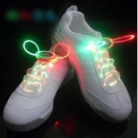 Green-Pink LED Flash Shoelace Manufactures