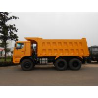 China Transport Semi Trailer Mining Transporter With Dual Enclosed Door for sale