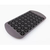 160 Silicone Mini Ice Cube Tray , Flexible Triangle Silicone Ice Cube Molds Manufactures