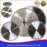 China High Precision TCT Circular Saw Blades For Plastic / Plywood / Aluminum on sale