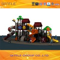 Galvanized Pipe,LLDPE Children tree house series outdoor playground Manufactures