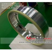 Resin/vitrified bond diamond/cbn peripheral grinding wheel for indexable inserts  sarah@moresuperhard.com Manufactures