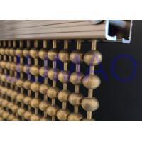 China Anti Brass Ball Chain Beaded Curtain, Interior Space Partition Bead Chain Curtain on sale
