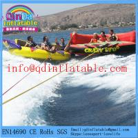 Quality Crazy Inflatable Boats pour Water Ski Sports inflatable UFO/inflatable water towable for sale