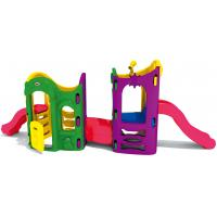 China plastic outdoor play house small children slide play set for toddler to play on sale