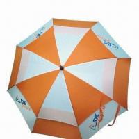 62-inch Licensed Golf Umbrella, Automatic, OEM Orders are Welcome Manufactures