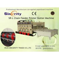 Printing Slotting Corrugated Carton Box Making Machine Semi Automatic Manufactures