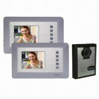 4-inch Color Video Intercom Door Phone, Nice Outward Appearance Manufactures