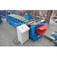 High Efficiency Double Layer Deck Roll Forming Machines / Roofing Sheet Roll Forming Machine Manufactures