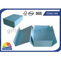 Logo Printed Custom Cardboard Paper Collapsible Box for Clothing Garment Apparel Manufactures