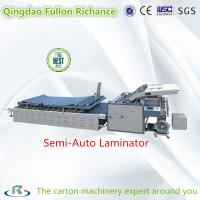 Low Price 2017 New Semi-Auto Carton Paper Pasting Machine (Laminator) Manufactures