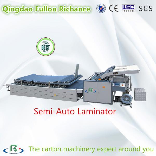 Quality Low Price 2017 New Semi-Auto Carton Paper Pasting Machine (Laminator) for sale