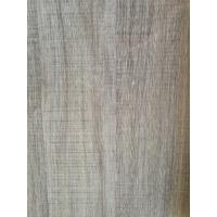 Printed Grey Wood Grain Decorative Paper Surface Abrasion Resistance 500kg / Roll Manufactures