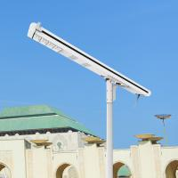 120W 8000 Lumen High Power Led Street Light , Solar Light Street Lamp With Sensor Manufactures