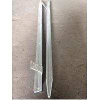 HDG Welding Angle Iron Earth Ground Anchor High Strength Stable Performance Manufactures