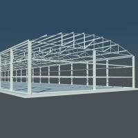 Customized Light Heavy Steel Structure Design For Structural Steel Fabricators Manufactures