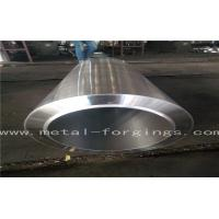 EN10222-2 P280GH 1.0426  Carbon Steel metal sleeves Forged Cylinder  Normalized Q + T Proof Machined Manufactures