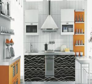 U Shape MDF Kitchen Cabinet Manufactures
