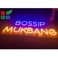 Quality 220-240V 3D Clear Channel Neon Signage Antique Neon Signs For Company Signs for sale