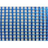 Blue 4 x 4  5 x 5 mm Fiberglass Mesh Reinforced Size C - Glass  With 110 g / m2 Manufactures