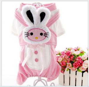 China cute pet clothes dog coat , crown pet apparel on sale