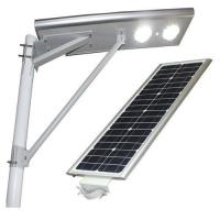 High quality IP66 60W Motion Sensor wholesale Solar LED Street light outdoor parking lot lighting Manufactures
