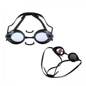 Triathlon Swimming Goggles White Color , Prescription Water Goggles No Leaking Manufactures