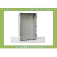 600x400x220mm ip66 PC clear waterproof hinged plastic box hinged box Manufactures