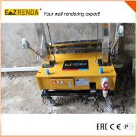 Automatic Stable Rendering Machine , Cement Sprayer Machine Rendering Height Up To 3.5M