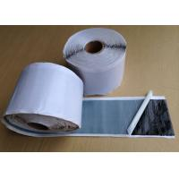 Waterproof Black Butyl Rubber Tape , Double Sided Adhesive Tape 1.60 - 1.70 g / cm3 Manufactures