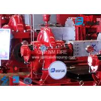 135PSI High Pressure Fire Fighting Pumps For Highway / Petrochemical Fields Manufactures