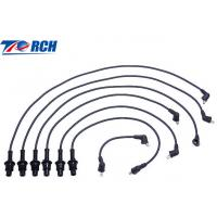 China Low Resistivity Spark Plug Cables Black PBT Material Fit CAMRY 90919-15457 on sale