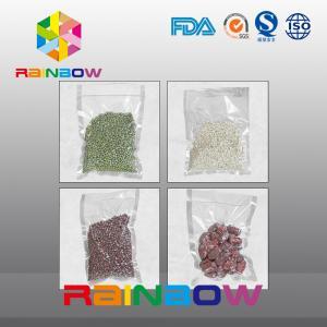 Embossed Food Vacuum Sealer Bags Rolls , Pastry Bag Bear Low Temperature Manufactures