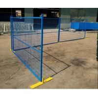 China Construction Powder Coated Temporary Mesh Fencing Galvanized Wire And Tube on sale