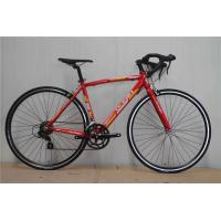 Made in China red steel 540mm frame 700c thin tube road bicycle/bicicle with Shimano 14 speed Manufactures