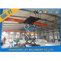 3T 8M Hydraulic Scissor Car Parking Lift Hydraulic Car Lift for Home Garage Manufactures